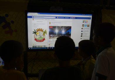 Estamos no facebook live