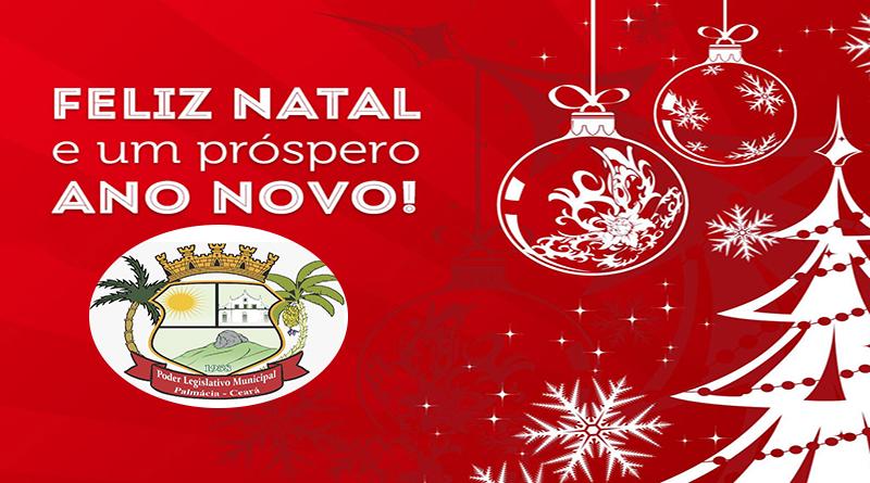 Desejamos um ótimo Natal e um Feliz Ano Novo.