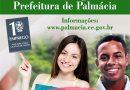 Edital de Seleção de Estagiários da Prefeitura Municipal de Palmácia.